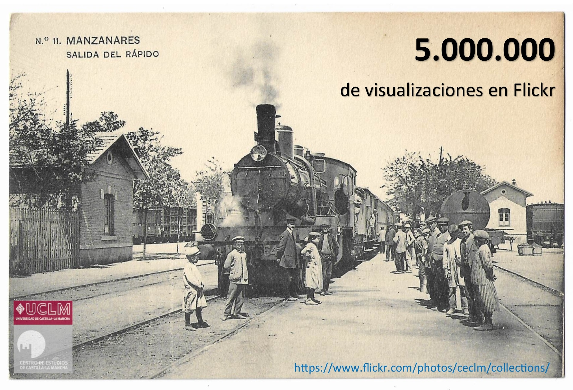 5 millones de visualizaciones en Flickr